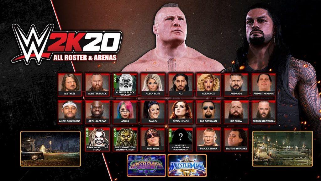 WWE 2K20 mobile
