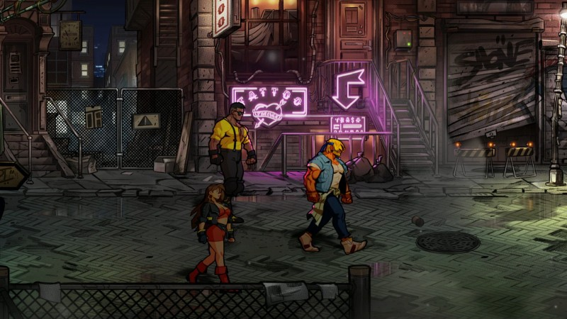 Streets of Rage 4 Mobile
