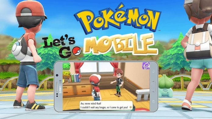 Pokemon Lets Go Pikachu Mobile