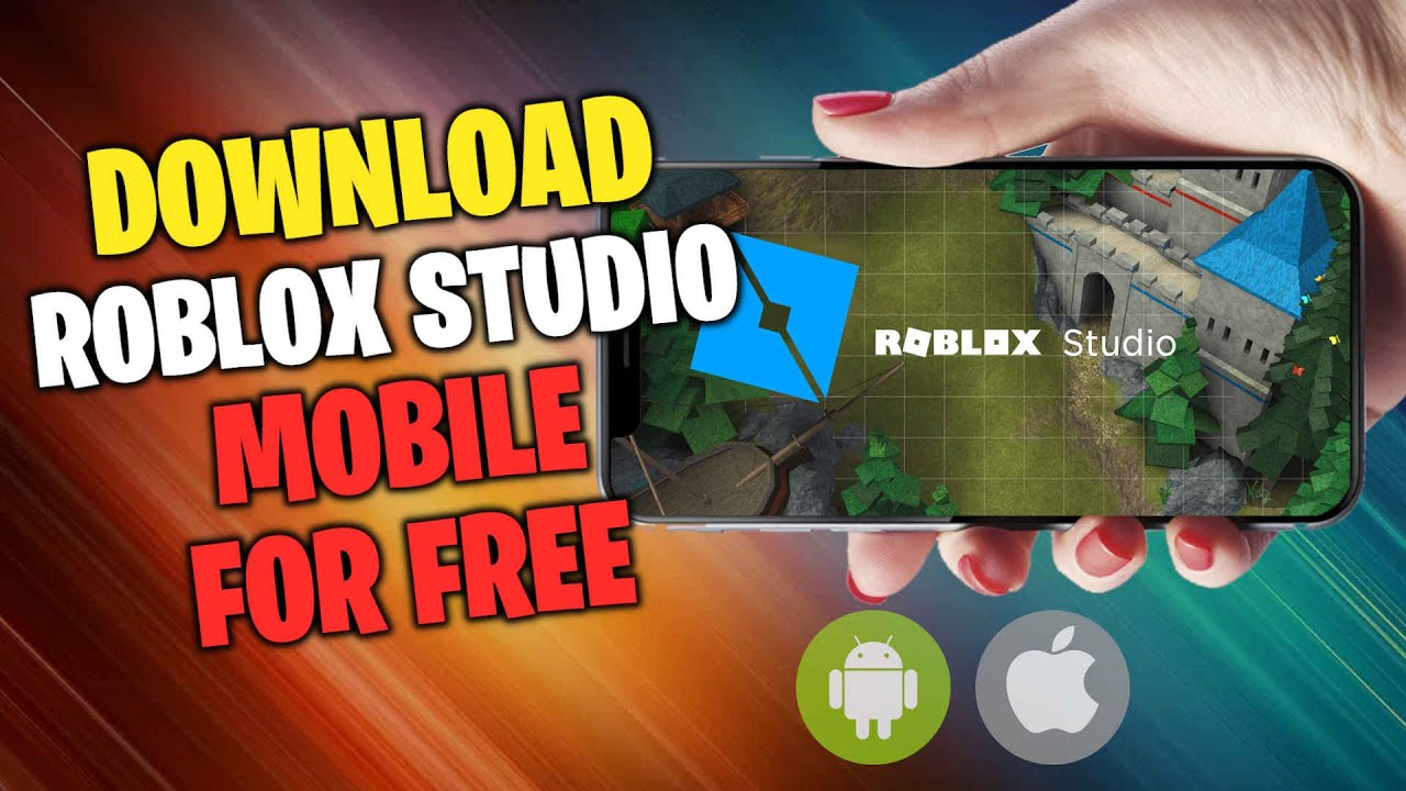 Roblox Studio Mobile Download Roblox Studio Mobile on IOS Android